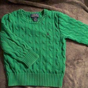 Ralph Lauren Boys 3T Cableknit sweater